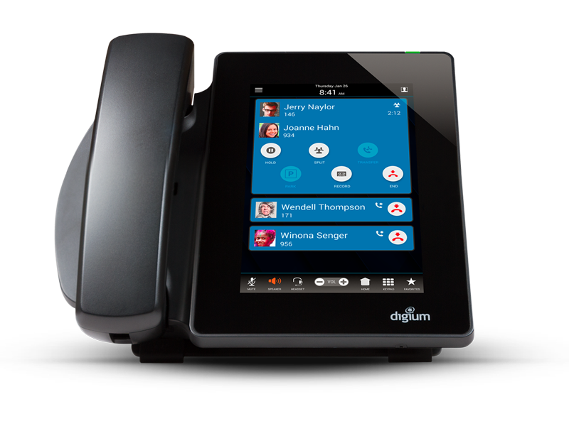 Digium Switchvox Touch Screen Color Phone